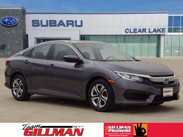 Pre Owned 2017 Honda Civic Sedan Lx Alloy Wheels
