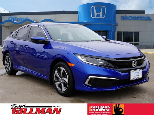 Honda Civic Certified Pre Owned >> Certified Pre Owned 2019 Honda Civic Lx Fwd 4d Sedan