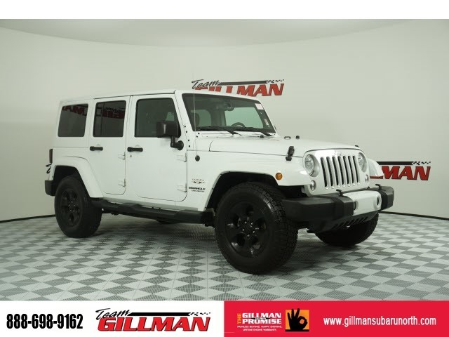Pre Owned 2016 Jeep Wrangler Unlimited Sahara Hard Top