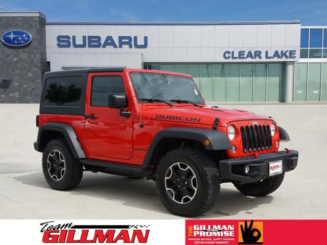 Pre Owned 2016 Jeep Wrangler Rubicon Leather Hard Top