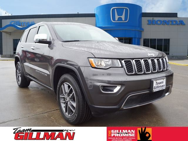 Pre Owned 2017 Jeep Grand Cherokee Limited Leather