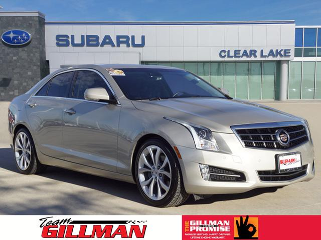 Pre Owned 2013 Cadillac Ats 2 0t Premium 2 0t Premium 4dr Sedan In