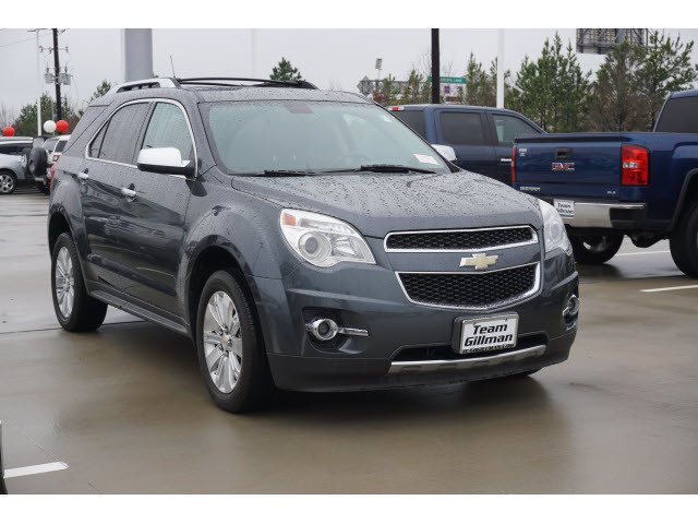 Pre-Owned 2010 Chevrolet Equinox LTZ LEATHER NAVIGATION SUNROOF TV DVD