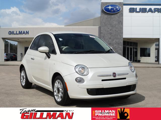 Pre-Owned 2015 FIAT 500 Lounge