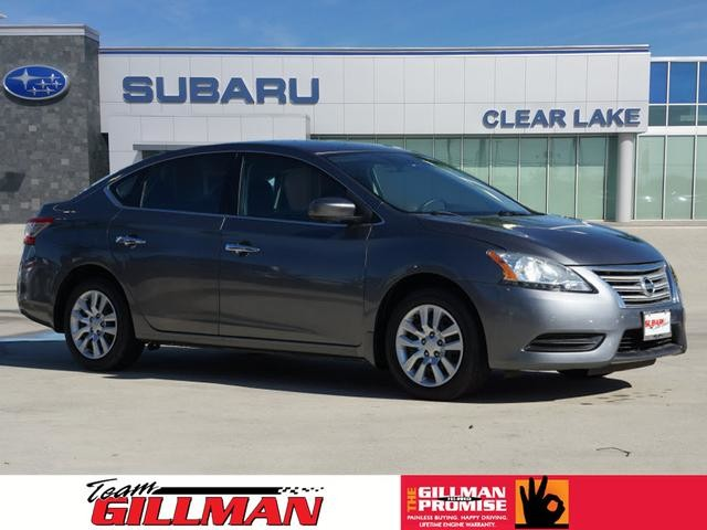 Pre-Owned 2015 Nissan Sentra S BLUETOOTH
