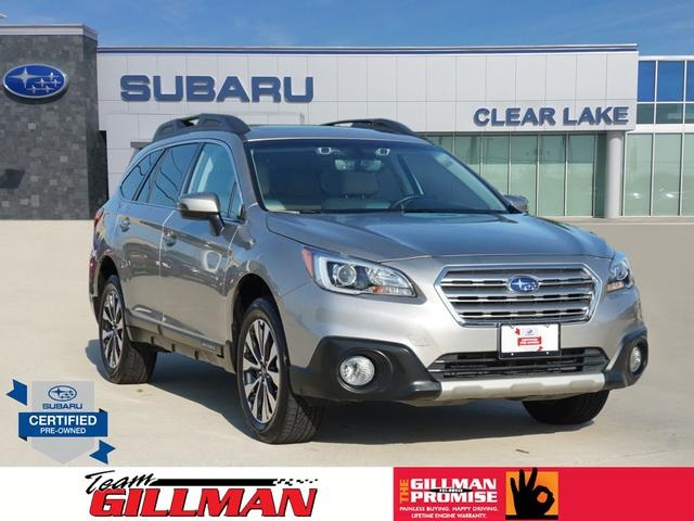 Subaru Certified Pre Owned >> Certified Pre Owned 2017 Subaru Outback 2 5i Limited Awd