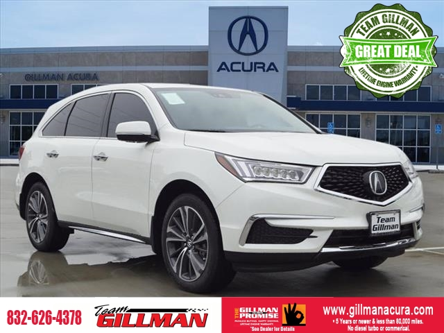 New 2019 Acura MDX w/Tech w/RES