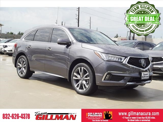 New 2019 Acura MDX SH-AWD w/Advance w/RES