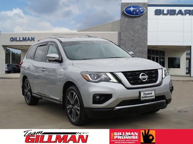 Pre Owned 2017 Nissan Pathfinder Platinum Platinum 4dr Suv In North