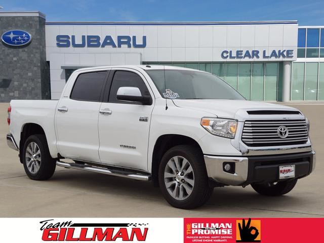Pre Owned 2017 Toyota Tundra 2wd Limited Leather Seats Navigation System
