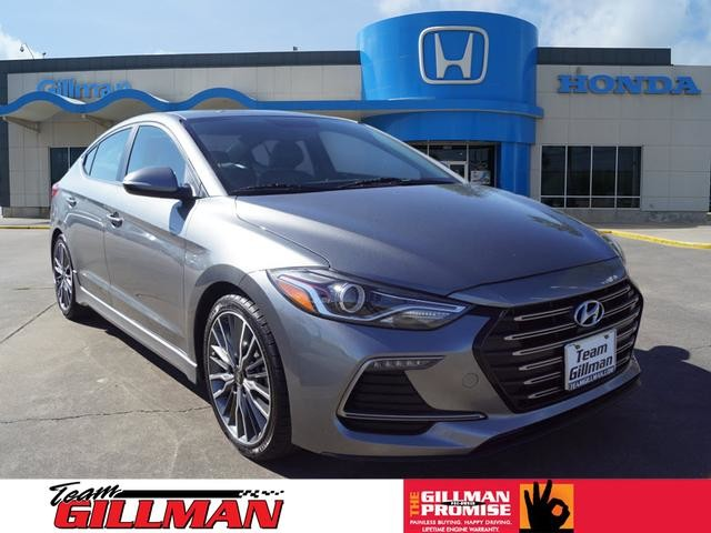 Pre Owned 2017 Hyundai Elantra Sport Leather Interior Navigation System Sunroof Infinty Audio