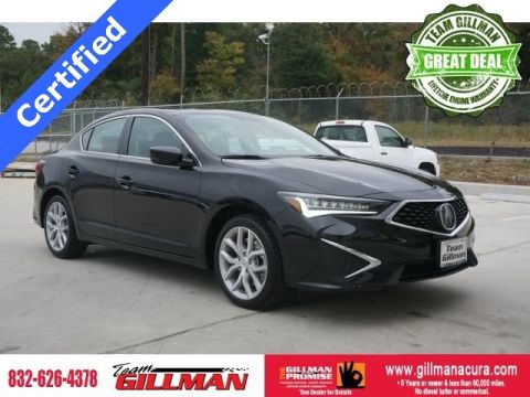 Certified Pre-Owned 2019 Acura ILX 2.4L Premium