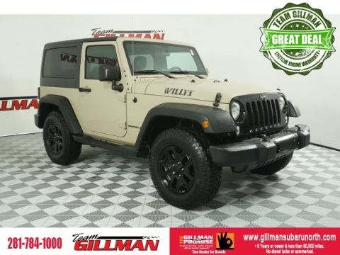 Pre-Owned 2016 Jeep Wrangler Willys Wheeler