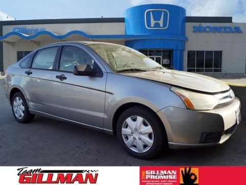 Pre-Owned 2008 Ford Focus S Front Wheel Drive Sedan