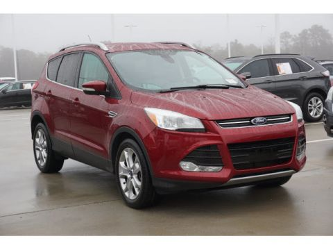 Pre-Owned 2015 Ford Escape Titanium LEATHER SONY AUDIO NAVIGATION