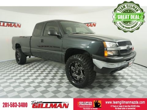 Pre-Owned 2004 Chevrolet Silverado 1500 LIFTED 4WD
