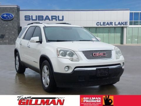 Pre-Owned 2008 GMC Acadia SLT-2 FWD 4D Sport Utility