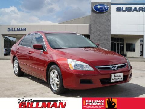 Pre-Owned 2007 Honda Accord EX-L FWD EX-L 4dr Sedan (2.4L I4 5M)