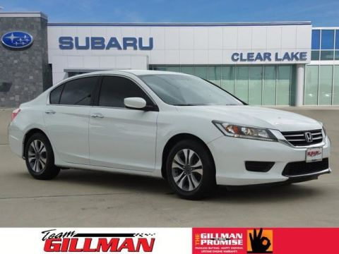 Pre-Owned 2014 Honda Accord Sedan LX LEATHER INTERIOR