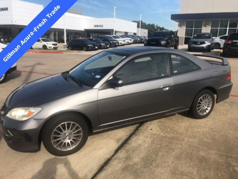 Pre-Owned 2005 Honda Civic EX FWD 2D Coupe