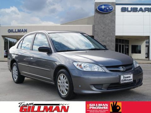 Pre-Owned 2004 Honda Civic LX FWD LX 4dr Sedan