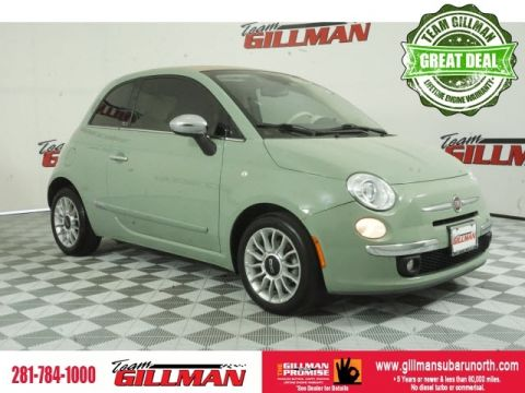 Pre-Owned 2012 FIAT 500c Lounge FWD 2D Convertible