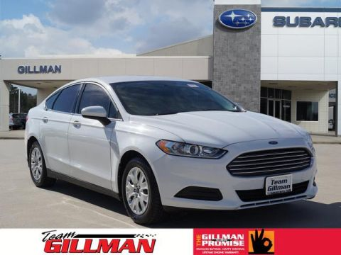 Pre-Owned 2013 Ford Fusion S FWD S 4dr Sedan