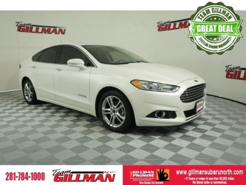 Pre-Owned 2015 Ford Fusion Hybrid Titanium