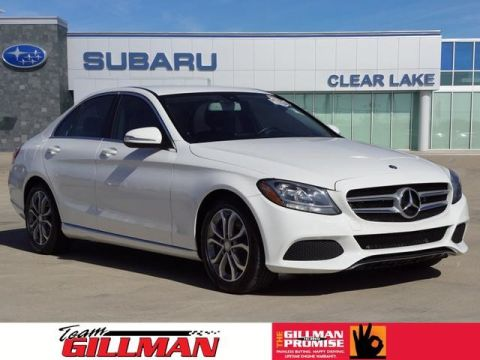 Pre-Owned 2015 Mercedes-Benz C-Class C 300 Luxury LEATHER