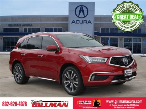 New 2019 Acura MDX w/Advance
