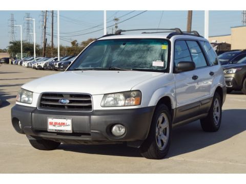 Pre-Owned 2004 Subaru Forester 2.5X AWD