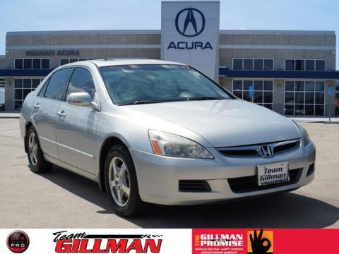 Pre-Owned 2006 Honda Accord HYBRID FWD Hybrid 4dr Sedan w/Navi