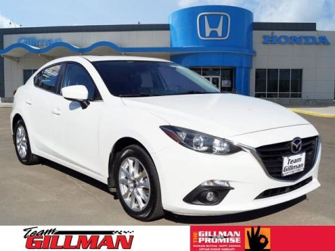 Pre-Owned 2015 Mazda3 i Grand Touring LEATHER INTERIOR SUNROOF BOSE AUDIO NAVIGATION SYSTEM