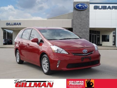 Pre-Owned 2012 Toyota Prius v Two ALLOY WHEELS