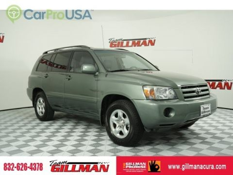 Pre-Owned 2005 Toyota Highlander SUPER CLEAN WITH LOW MILES PERFECT SERVICE RECORDS Front Wheel Drive SUV