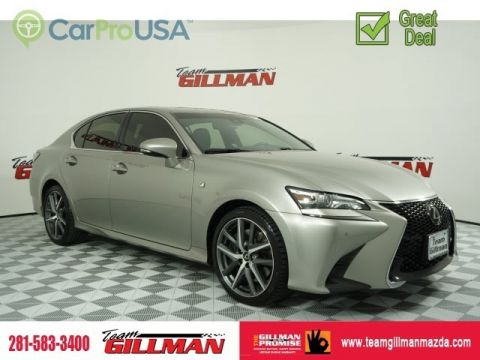 Pre-Owned 2018 Lexus GS GS 350 SUNROOF NAVIGATION F-SPORT
