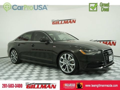 Pre-Owned 2013 Audi A6 3.0T Prestige LEATHER SUNROOF NAVIGATION