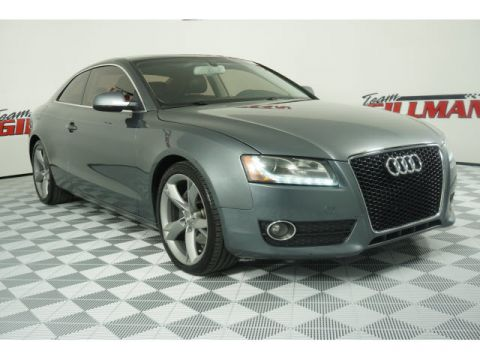 Pre-Owned 2012 Audi A5 2.0T Premium Plus NAVIGATION LEATHER With Navigation & AWD
